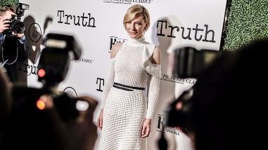 Cate Blanchett protagoniza polémica cinta sobre el periodismo