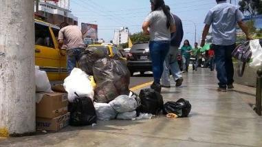 Basura en las calles: trujillanos siguen quejándose por pésimo servicio