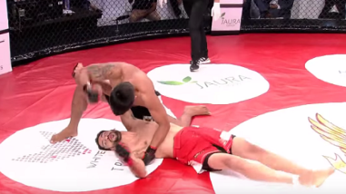 YouTube: soberbio peleador de MMA fue humillado al ser noqueado en 9 segundos