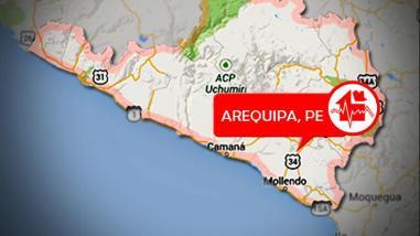 Sismo de 3.8 grados de magnitud no ocasionó daños