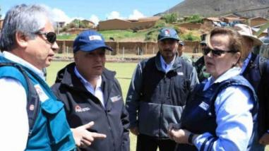 Las Bambas: ministros ya están en Apurímac para mesa de diálogo