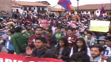Pobladores de La Rinconada anuncian movilización contra gobernador regional