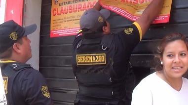 Chiclayo: por orden edil cierran chicherios de la calle Cois