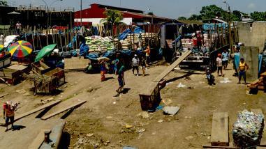 Yurimaguas: movimiento en mercados y puerto durante el séptimo día de huelga