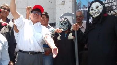 Trabajadores judiciales se desangraron en segundo día de paro