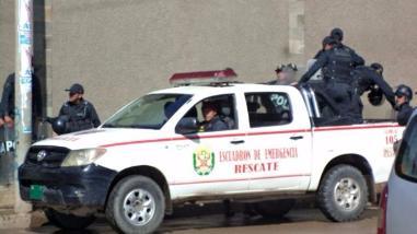Intervienen a banda dedicada al robo de cajeros automáticos en Ica