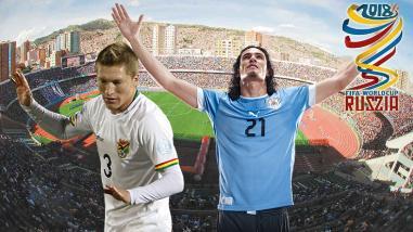 ¡Golpe en La Paz! Uruguay gana 0-2 a una Bolivia mermada