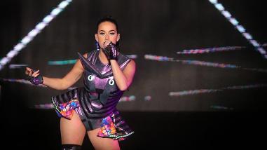 Katy Perry se lució con increíble show en Chile