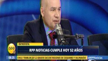 """Delgado Nachtigall: """"RPP es el medio de mayor credibilidad del país"""""""