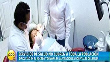 Tres de cada 10 peruanos están insatisfechos con la atención médica