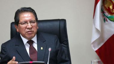 Fiscal de la Nación pide aplicar sanciones rápidas contra la corrupción