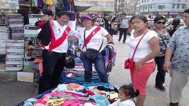 Chiclayo ya vive la fiesta de las eliminatorias