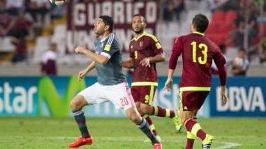 Paraguay ganó por 1-0 a Venezuela en su debut en las Eliminatorias Rusia 2018