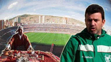 Bolivia vs. Uruguay: Plantel 'altiplánico' realizó ofrenda a la Pachamama