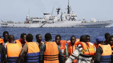ONU votará el viernes la operación europea contra tráfico de migrantes