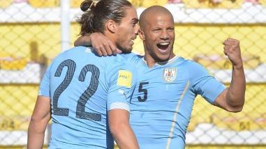Uruguay venció 2-0 ante Bolivia y rompió maldición de medio siglo