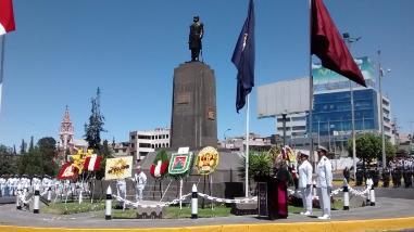 La Marina renueva juramento de seguir ejemplo de Miguel Grau