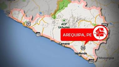 Sismo de 4.3 grados se registró en el distrito de Punta de Bombón