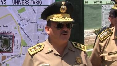 General Aliaga incómodo al ser consultado sobre caso Tumán
