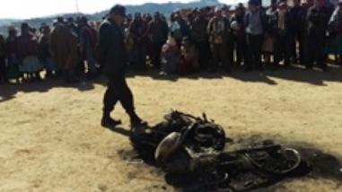 Asaltantes mueren tras ser linchados por comuneros de Acoccollo