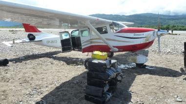 México: Mueren dos narcos al caer avioneta con cocaína