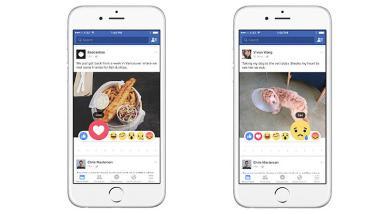 Facebook crea Reactions para expresar emociones más allá del