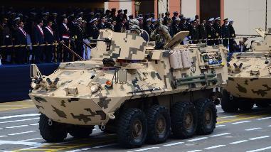 Así fue el desfile en homenaje a Miguel Grau