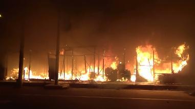 Nuevo Chimbote: hermanitos se salvaron de morir quemados en incendio