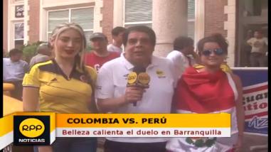 Perú vs. Colombia: la belleza en la previa al partido de Eliminatorias