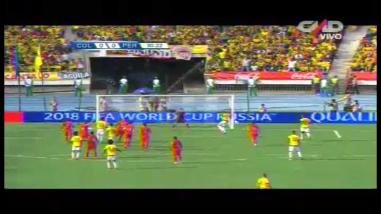 Perú vs. Colombia: la chance clamorosa que perdió Carlos Bacca