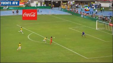 Perú vs. Colombia: Yordy Reyna estuvo cerca de anotar el gol del empate