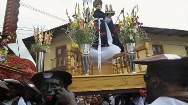 Huamachuco: 'Los negritos' manifestaron su fe a San Francisco de Asís