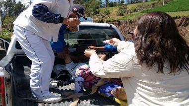 Dos muertos y nueve heridos dejó accidente en Omacha
