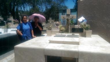 Cementerio La Apacheta fue afectado por rotura de tubería matriz