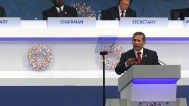 Ollanta Humala: Perú sigue avanzando en alcanzar metas del 2030