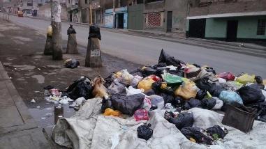 SJL con graves problemas en recolección de basura