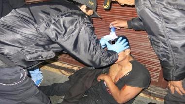 Enfrentamiento de pandillas deja un herido
