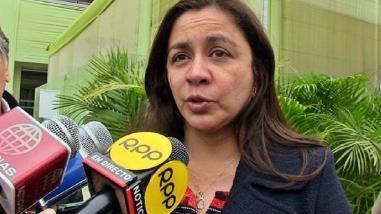 Marisol Espinoza habló sobre la candidatura de Daniel Urresti