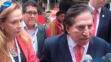 Alejandro Toledo dijo que recibirá Premio Nobel