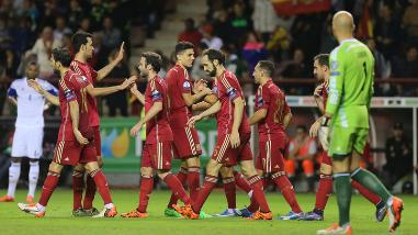Eurocopa 2016: España aseguró la clasificación tras golear a Luxemburgo