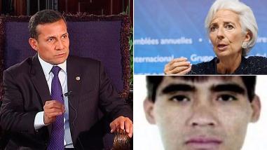 """Humala dice que ascenso a militares es un tema institucional, Lagarde citó a Vallejo para comparar la atmósfera de incertidumbre en el mundo y cayó el """"Loco Darwin"""", cabecilla de los """"Malditos de Bayovar"""