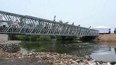 """Lambayeque: solicitarán instalación de puente bailey por """"El Niño"""""""