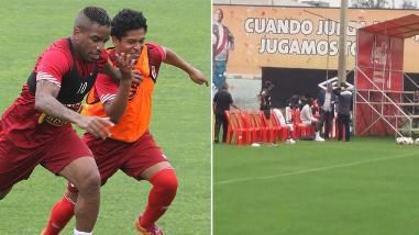 Selección Peruana: Farfán hizo fútbol y Advíncula solo observó entrenamiento