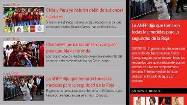 Perú vs. Chile: así informó la prensa Mapocha sobre curiosidades del Clásico del Pacífico