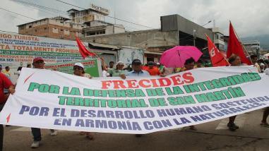 Tarapoto: fracasa diálogo y continúa huelga indefinida del Sutep