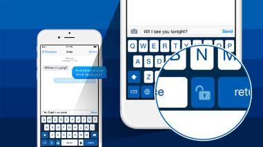 Teclado permite enviar mensajes ocultos