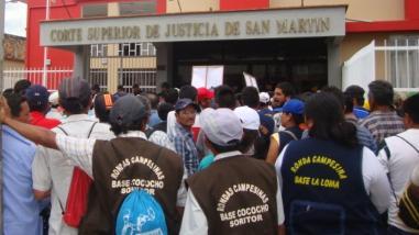 Moyobamba: desbloquean carretera Fernando Belaunde Terry