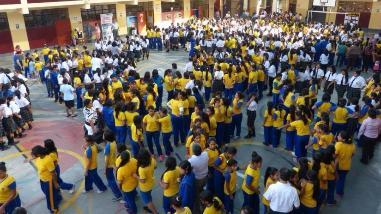 Más de 100 mil estudiantes participaron de simulacro de sismo