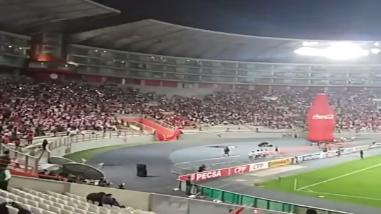 Perú vs. Chile: así alienta el público peruano en el Estadio Nacional