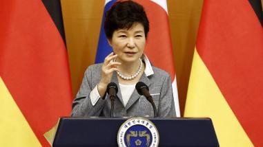 La presidenta surcoreana parte a EEUU para reunirse con Obama
